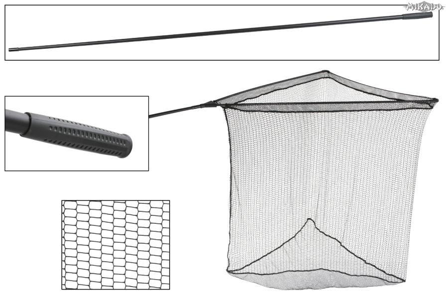 MIKADO Kaprový podberák - INTRO CARP 1.8m/42 (1diel)