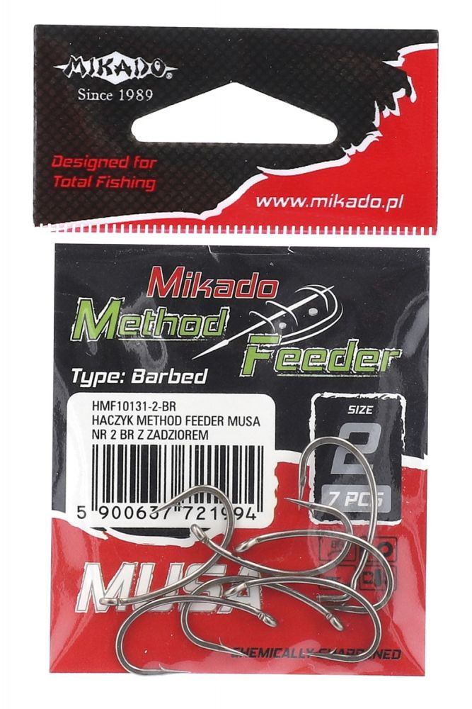 MIKADO Háčik Method Feeder - MUSA