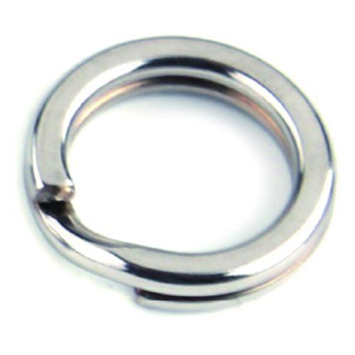 Spojovací krúžok - SPLIT RING BKK - č.2 NEREZ 18 ks.