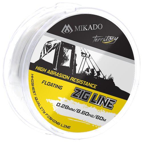 MIKADO Vlasec -TERRITORY ZIG LINE 0.30mm - 60m