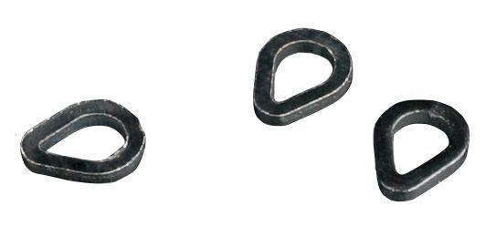 MIKADO Krúžky - TEAR DROP RIG RINGS / 6 mm 25ks