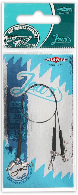 MIKADO Hotový nadväzec titaniový  JAWS 35cm (2ks)
