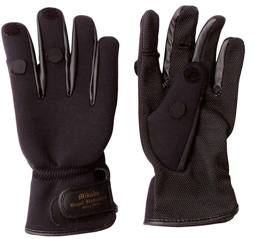 Rybárske neoprénové rukavice UMR-02 (veľ.M) Mikado