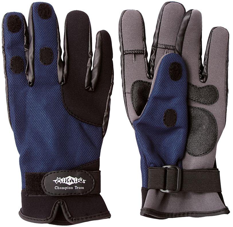 Rybárske neoprénové rukavice UMR-04 (veľ.XL) Mikado