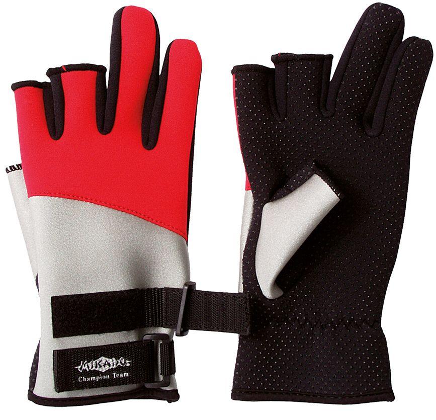 Rybárske neoprénové rukavice UMR-01 (veľ.M) Mikado