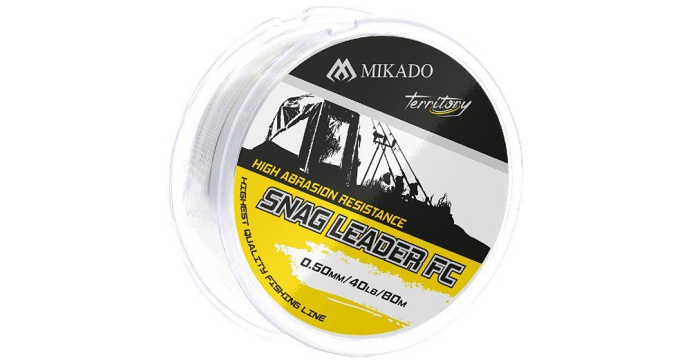 MIKADO Šokový vlasec SNAG LEADER FC - 50lbs/0.60mm (80m)
