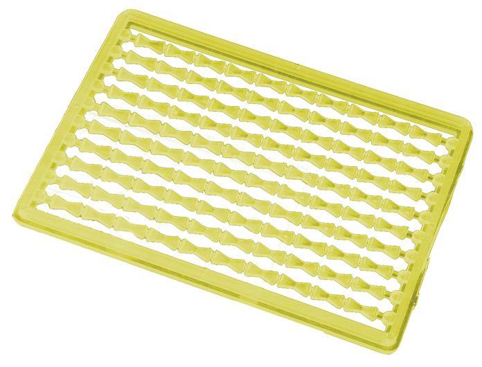 MIKADO Zarážka na boilies žltá/tvrdá (2ks)