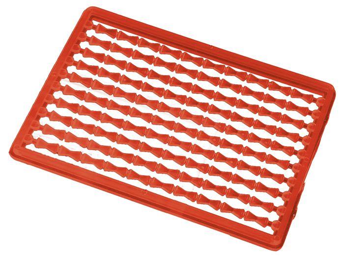 MIKADO Zarážka na boilies červená/tvrdá (2ks)
