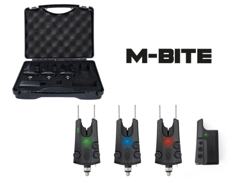 MIKADO Signalizátory záberu M-BITE (SET 3+1)