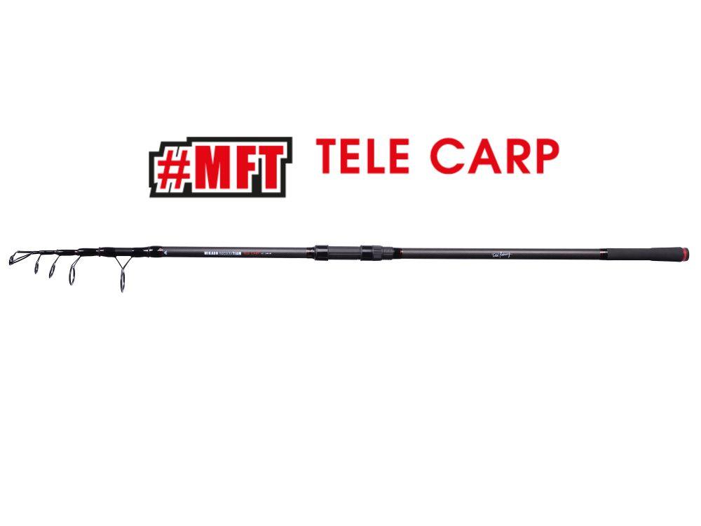 MIKADO Kaprový prút MFT TELE CARP 12ft 3.60m / 3.0lbs