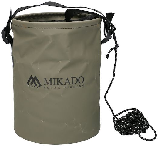 MIKADO Skladacie vedro so šnúrkou COLLAPSIBLE BUCKET (8L)