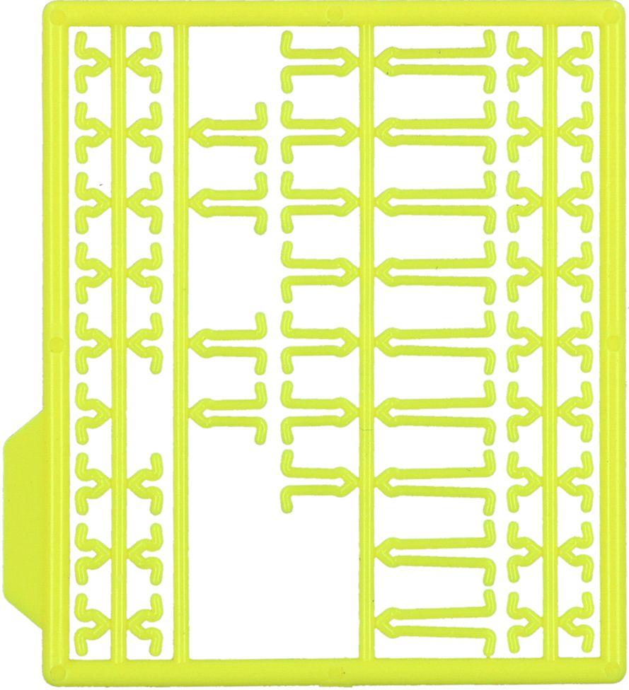 MIKADO Zarážky na predlžovacie/žlté (2ks)