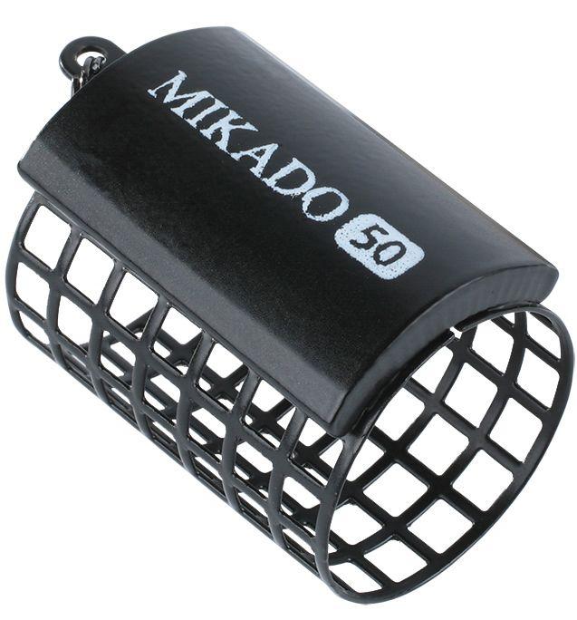 MIKADO Feedrový košík bez dna okrúhly/čierny HEAVY (1ks)