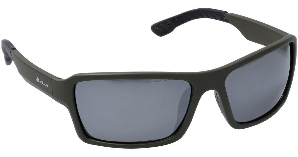 MIKADO Polarizačné okuliare 0244 / zrkadlový efekt (šedé)