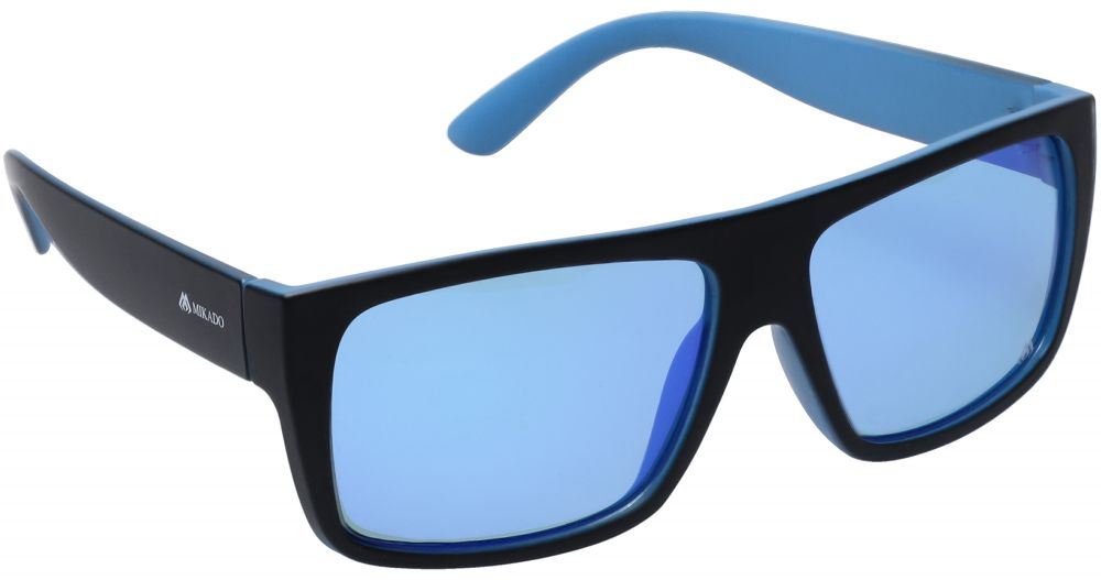 MIKADO Polarizačné okuliare 0595 / zrkadlový efekt (modro fialové)