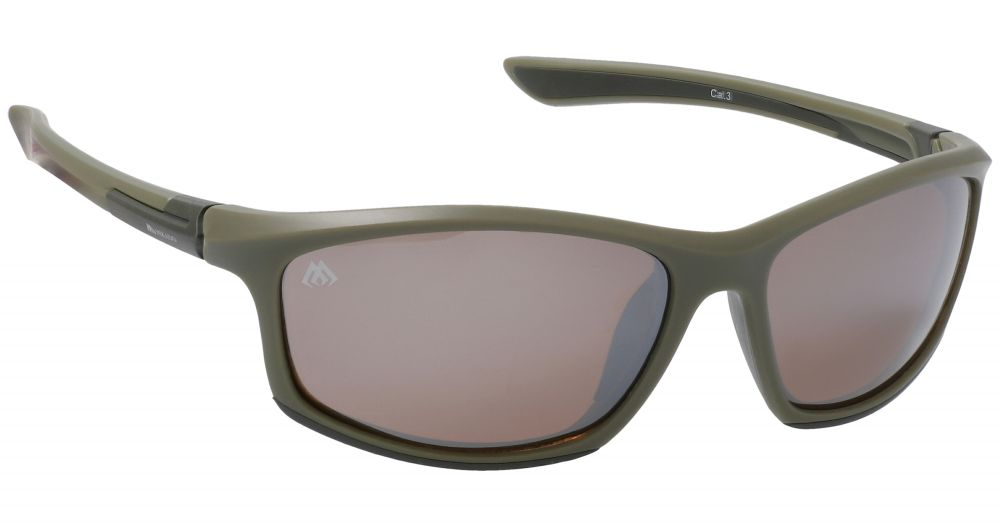 MIKADO Polarizačné okuliare 7871 / zrkadlový efekt (hnedé)