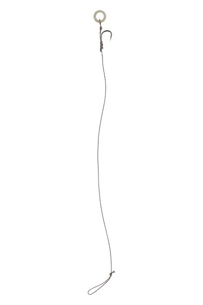MIKADO Hotový nadväzec METHOD FEEDER RIG W/BAIT BAND 10cm, č.4, 0.16mm - 8ks (šnúra) - AKCIA!