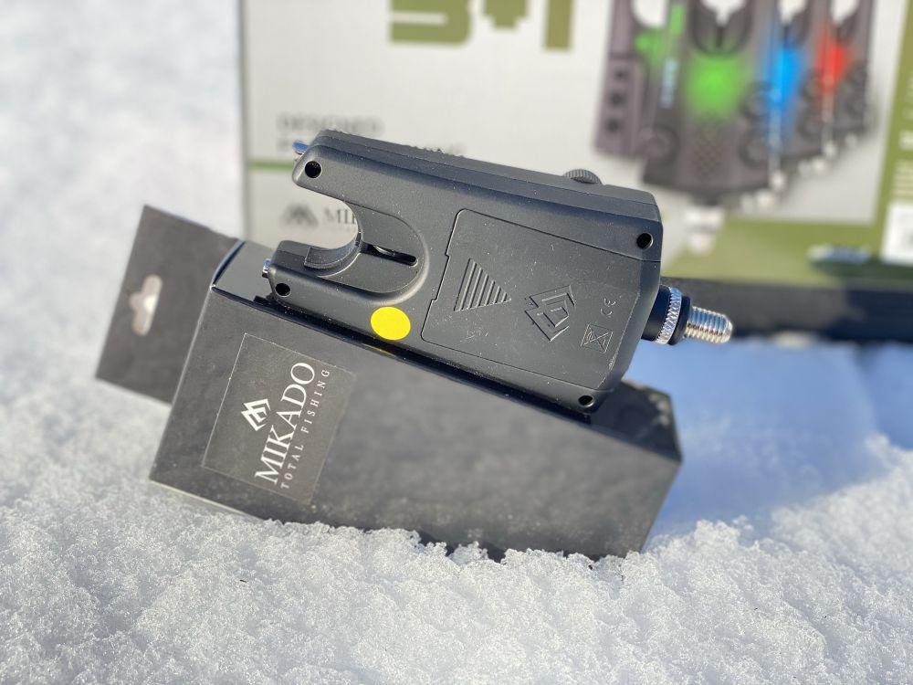 MIKADO Signalizátor záberu M-BITE (žltý)