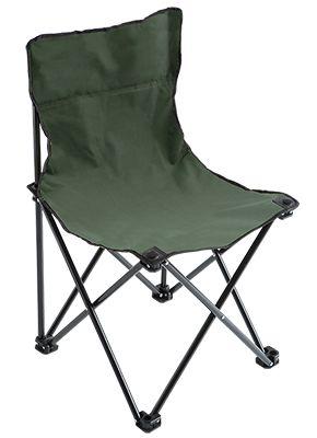 MIKADO Rybárska stolička zelená (36x36x61cm)