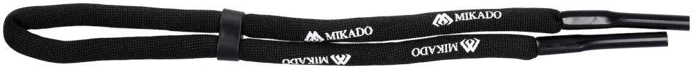 MIKADO Plávajúca šnúrka na okuliare - FLOATING BELT FOR SUNGLASSES BLACK 65cm