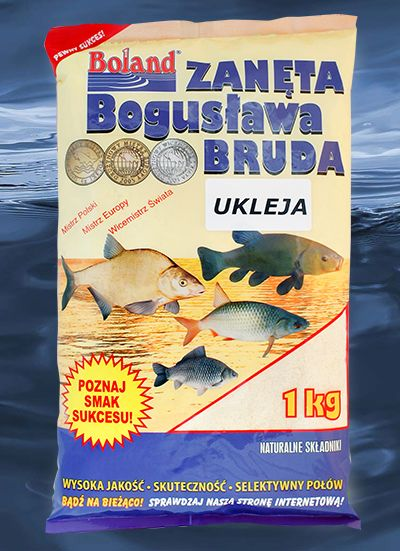 BOLAND Krmivo Popular 1kg - PLOTICA