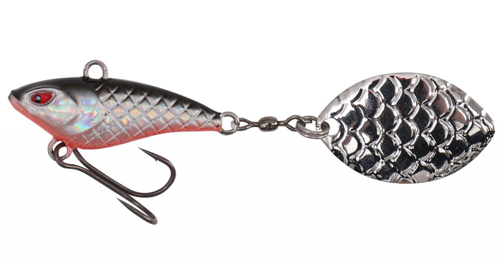 MIKADO Wobler M-TAIL 5cm/3g - BLOODY ROACH (1ks)