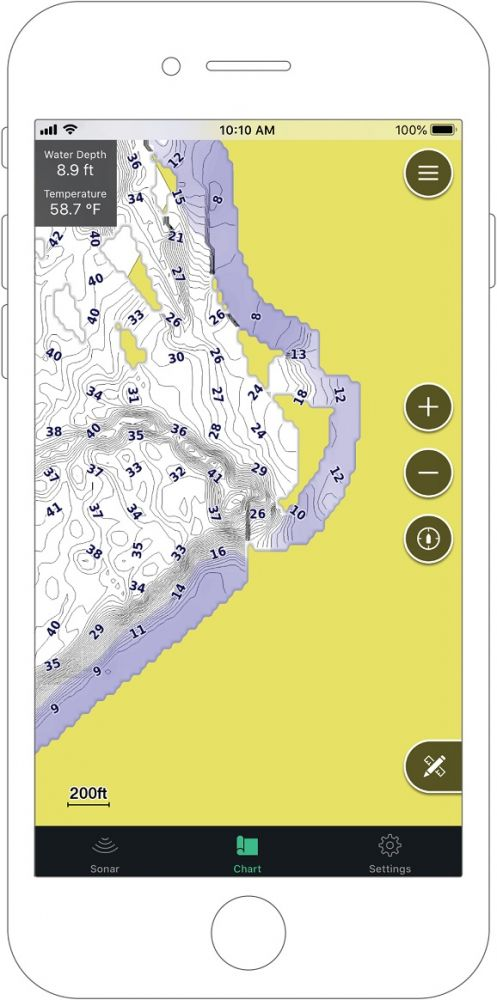 GARMIN Nahadzovací sonar STRIKER CAST GPS