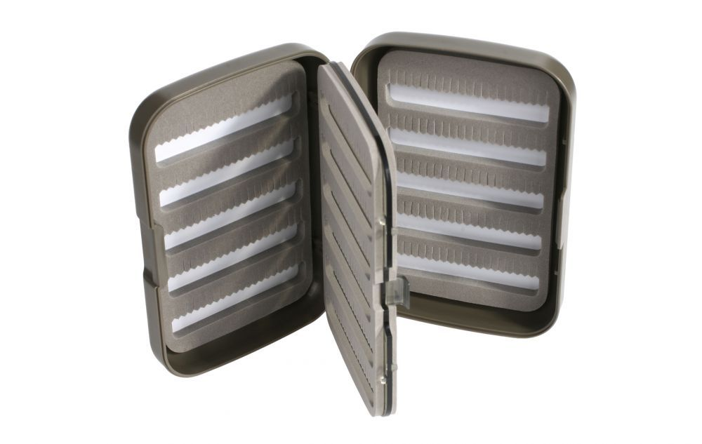 FLY BOX (GREY) 128x86x34mm