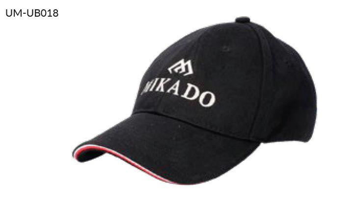 MIKADO Šiltovka UB018 čierna
