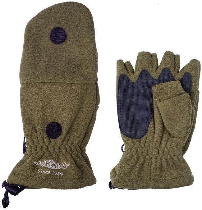 Rybárske rukavice zelené UMR-08G (veľ.XL) Mikado