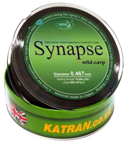 KATRAN Vlasec Synapse WILD CARP 0.467mm/800m/35.00Lb