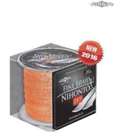 Šnúra NIHONTO FINE BRAID 0.25 oranžová 300m Mikado
