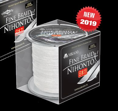 MIKADO Šnúra NIHONTO FINE BRAID Biela 300m - 0.50mm