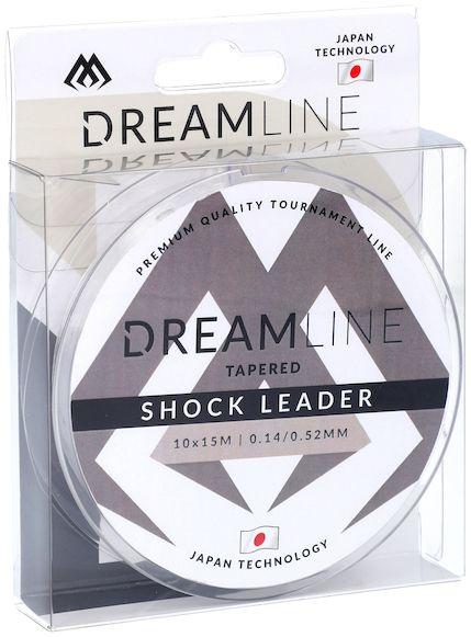 MIKADO Šokový vlasec -TAPERED SHOCK LEADER DREAMLINE 0.18 - 0.60mm / 10x15m
