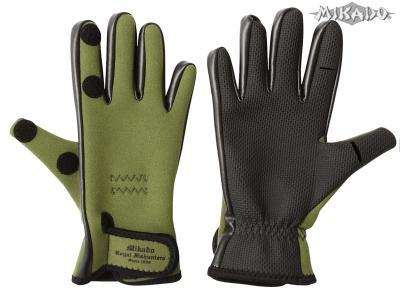 Rybárske neoprénové rukavice UMR-03 (veľ.XL) Mikado