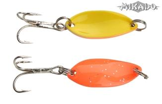 Mini plandavka TROUT CAMPIONE (2.2cm/1.4g/oranžovo-žltá) Mikado