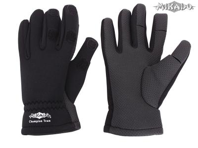 Rybárske neoprénové rukavice UMR-02 (veľ.XL) Mikado