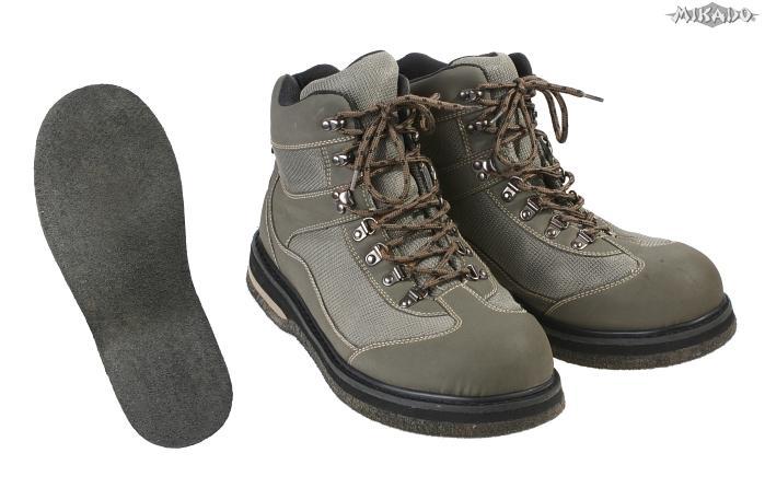 Brodiace topánky s filcovou podrážkou - veľ. 45