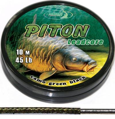 KATRAN Olovenka Piton - 10m, 35Lb (Zeleno-čierna)