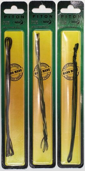 KATRAN Hotová Olovenka Piton - 45lb, 70cm, 2ks (Zeleno-čierna)
