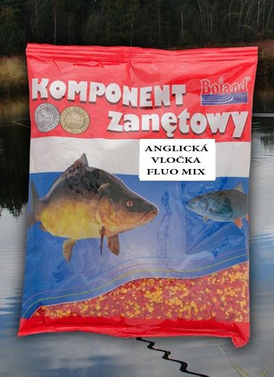 BOLAND Anglická vločka Fluo mix (400g)