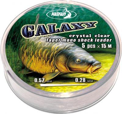 KATRAN Šokový vlasec Galaxy - 0.26-0.57mm (5x15m)