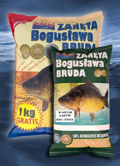 BOLAND Krmivo Popular 1kg - BIG FISH