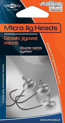 MIKADO Micro jigová hlava 1.5g (3ks)