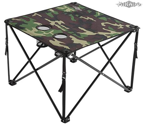 FOLDED CARP TABLE / CAMOUFLAGE (60 x 60 x 50cm)
