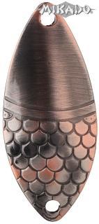 MIKADO Plandavka ALGA - veľ.0 10g/4.4cm (Staro medená)