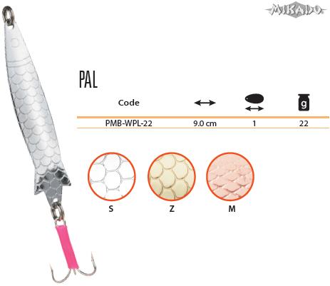 SPOON - PAL No 1 / 22 g / 9.1 cm - COPPER