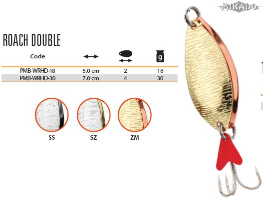 Plandavka  ROACH DOUBLE Veľ.4 30g (Zlato-Medená) Mikado