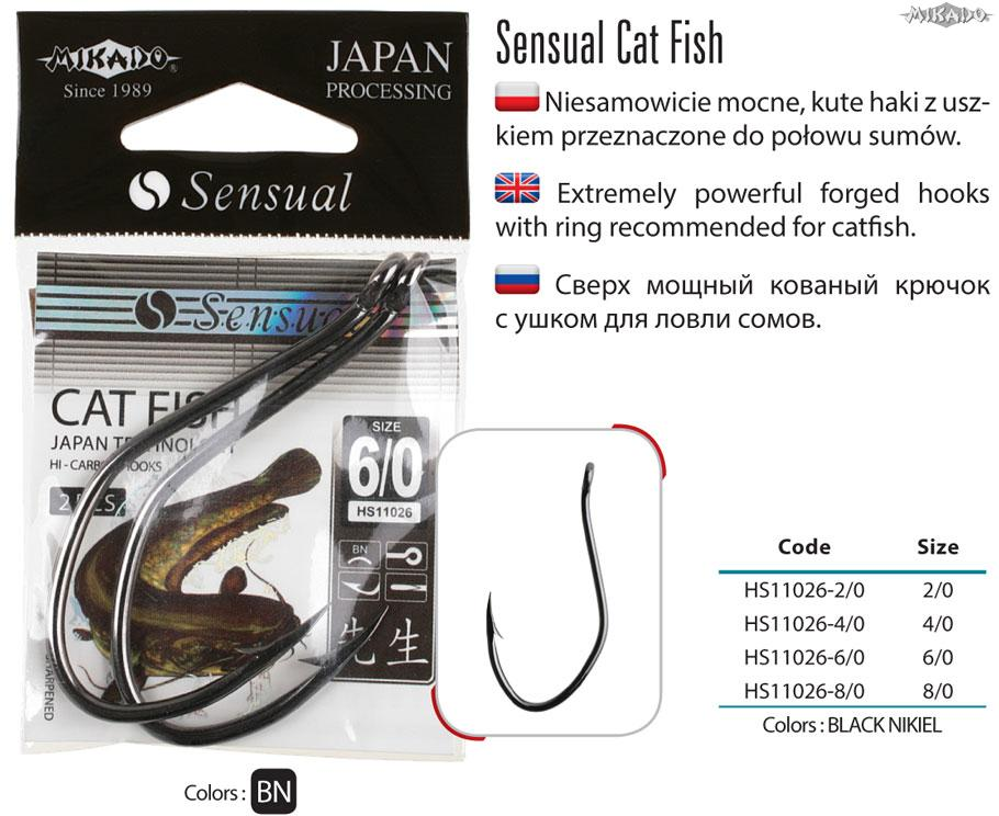 MIKADO SENSUAL CAT FISH - veľ.4/0, 2ks