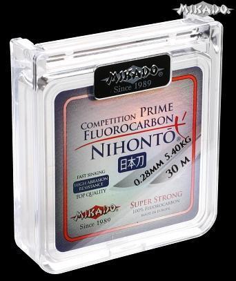 MIKADO Fluorocarbon NIHONTO Prime 30m - 0.18mm